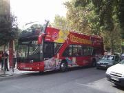 Touristenbus in Palma de Malorca